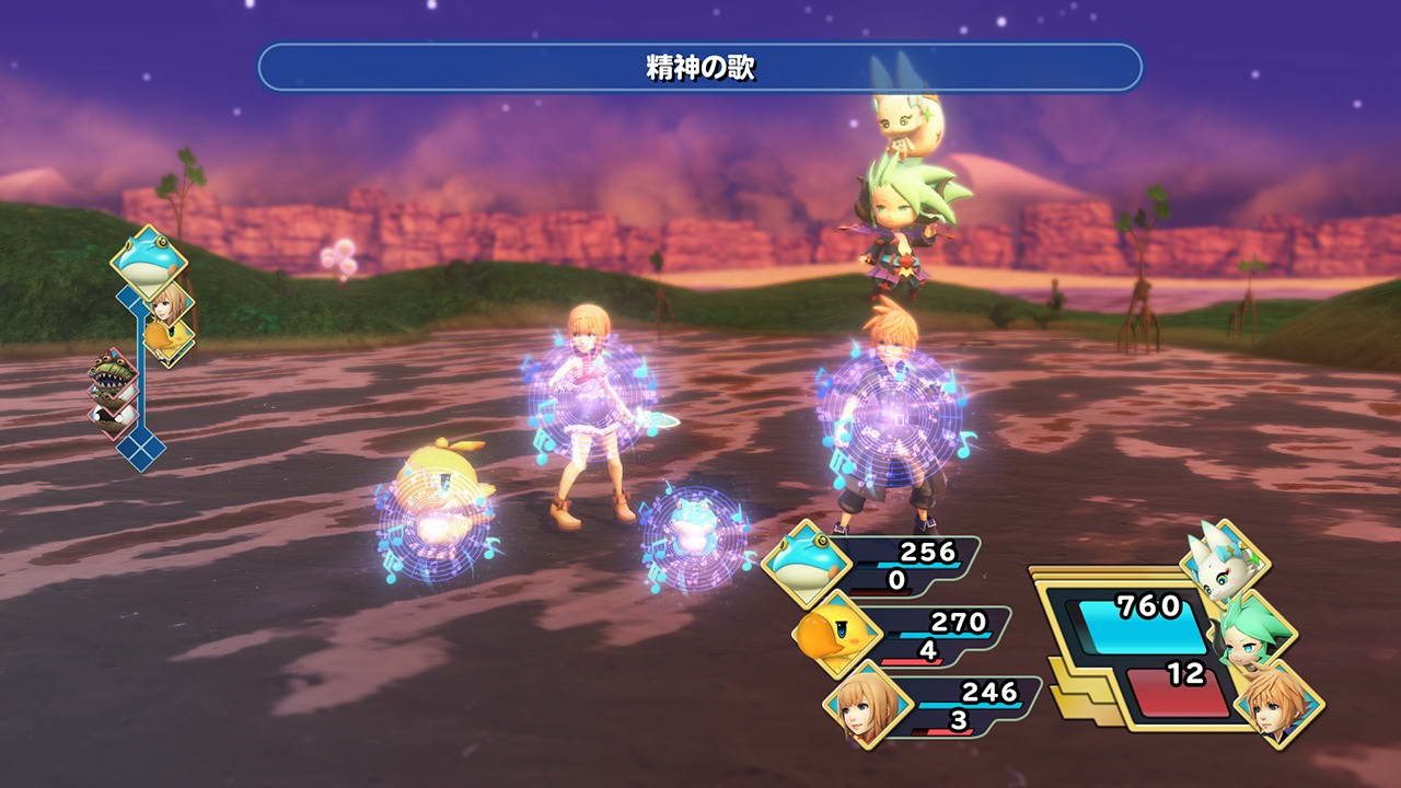 Скриншот World of Final Fantasy