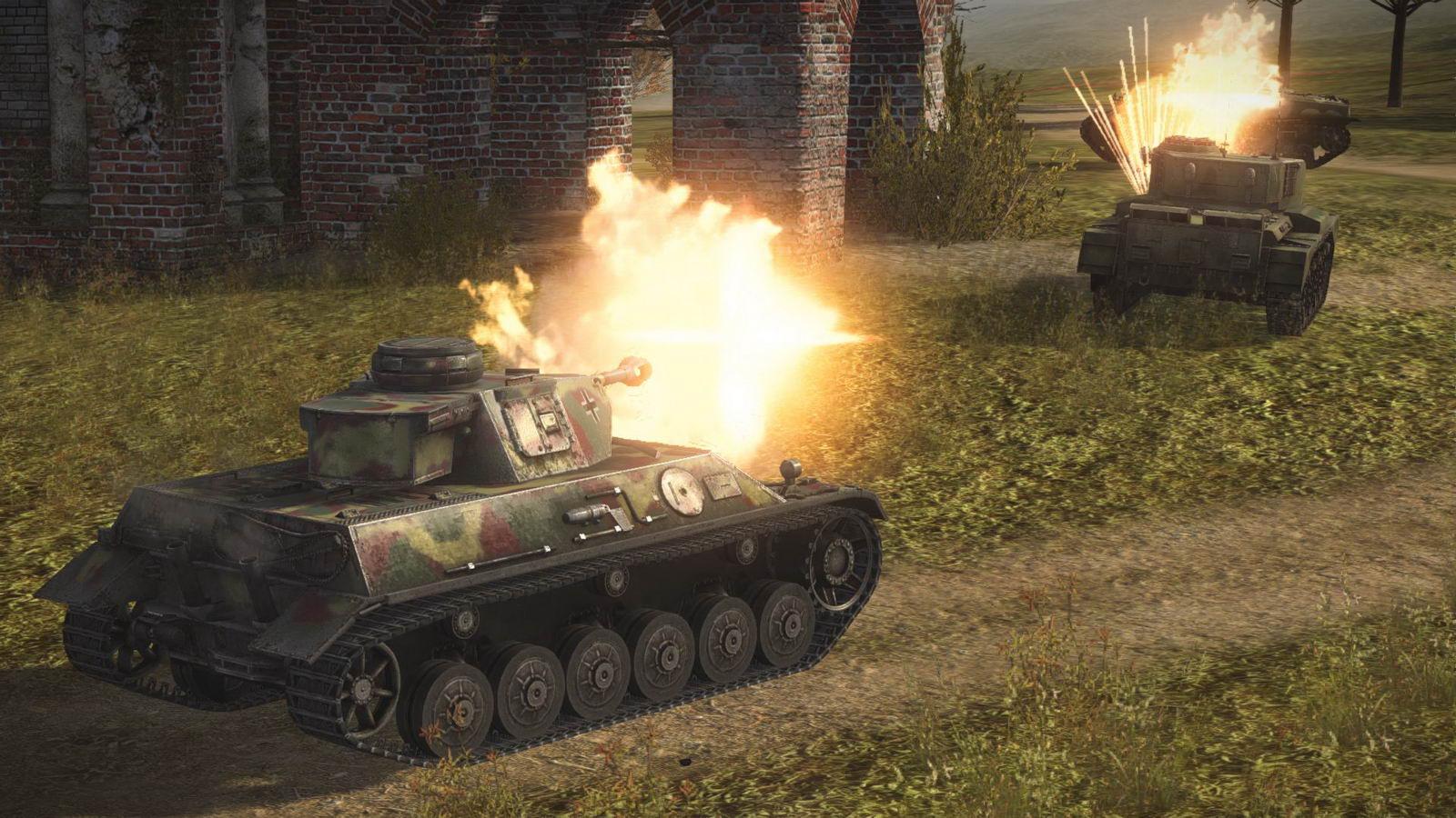 Скриншот World of Tanks: Xbox 360 Edition