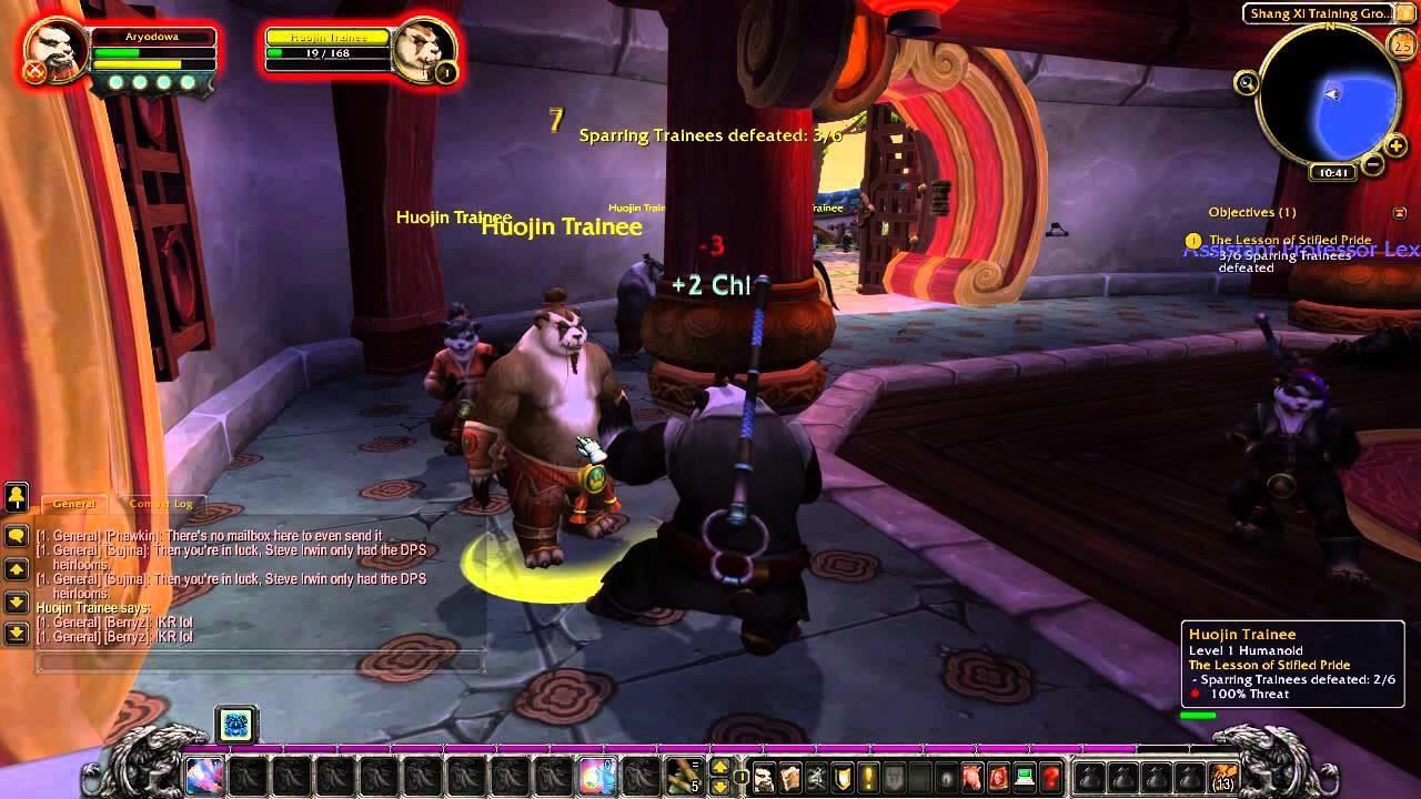 Скриншот World of Warcraft: Mists of Pandaria