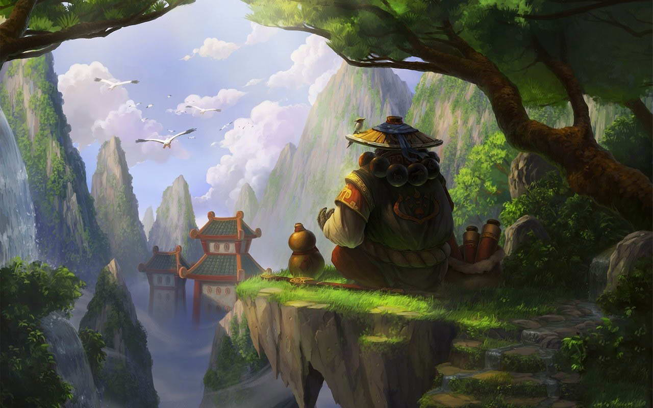 Арт World of Warcraft: Mists of Pandaria