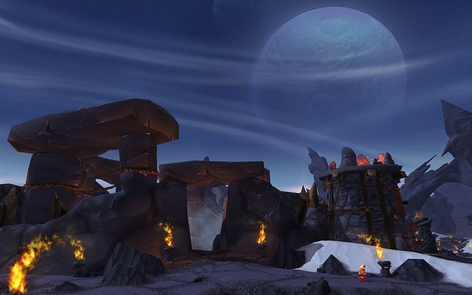 Скриншот World of Warcraft: Warlords of Draenor