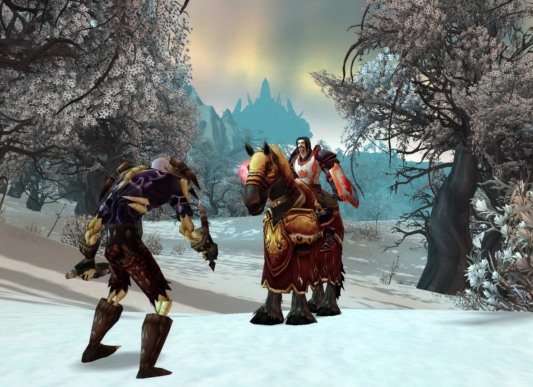 Скриншот World of Warcraft: Wrath of the Lich King