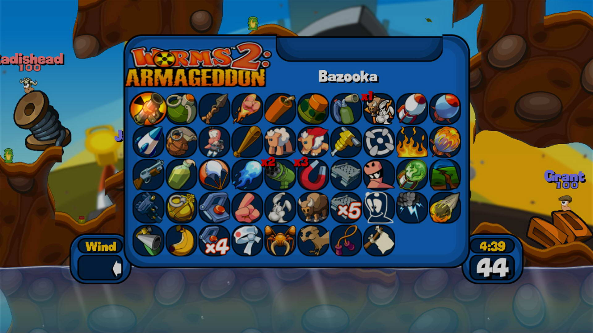 Скриншот Worms 2: Armageddon