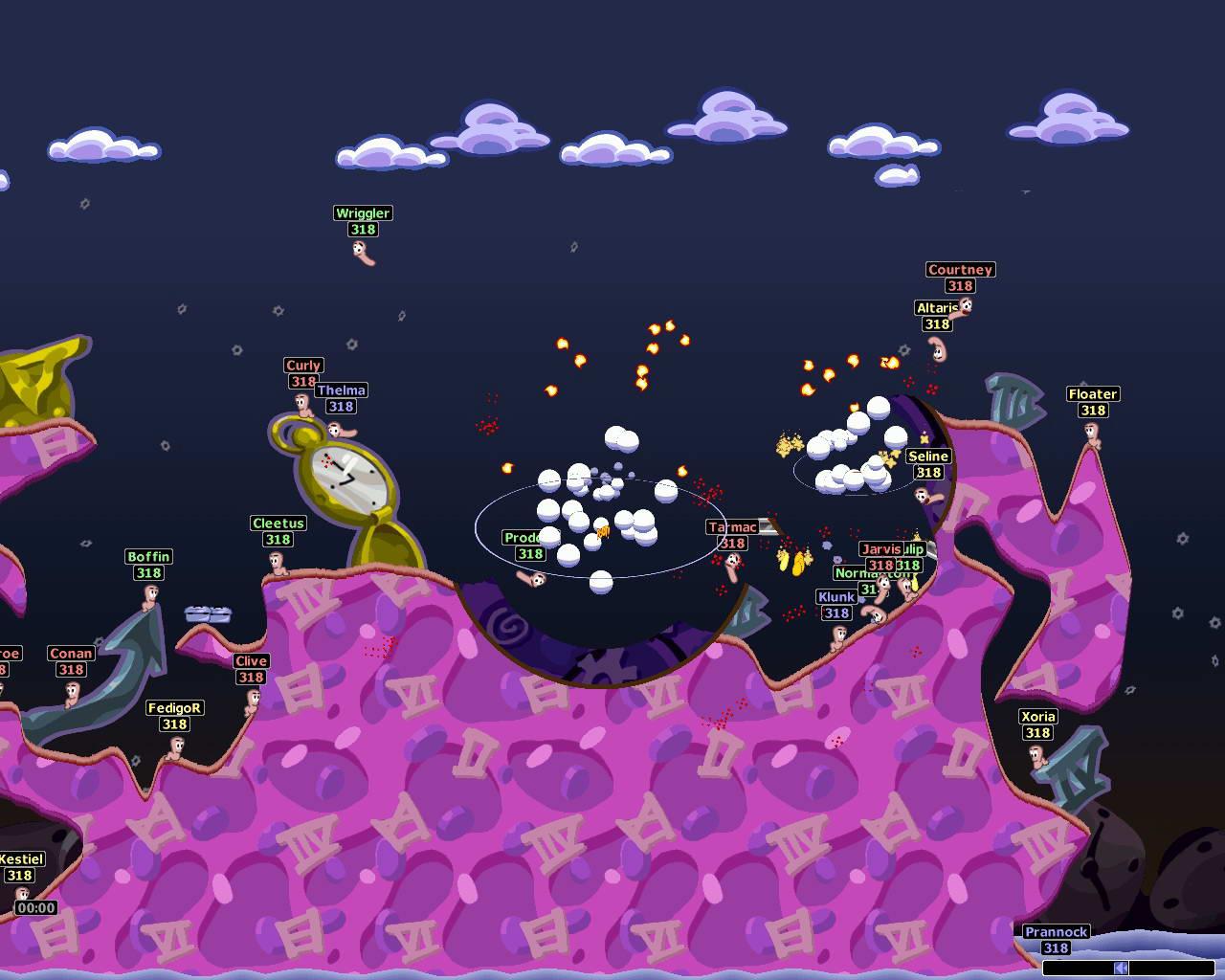 Скриншот Worms Armageddon