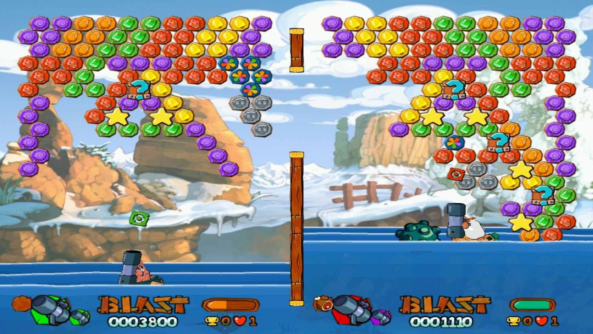Скриншот Worms Blast