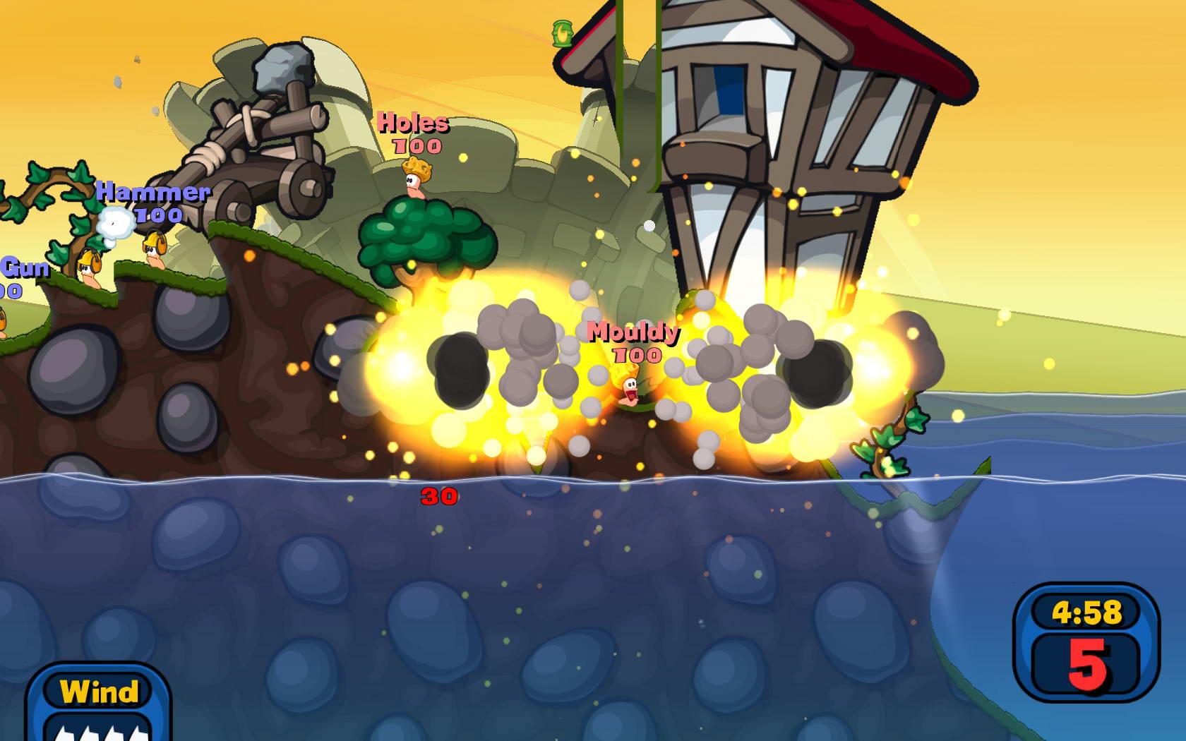 Скриншот Worms: Reloaded