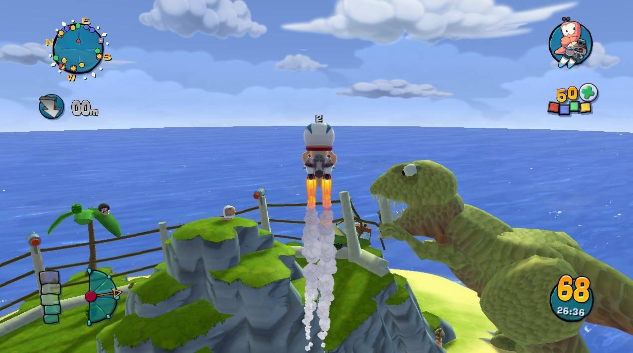 Скриншот Worms: Ultimate Mayhem