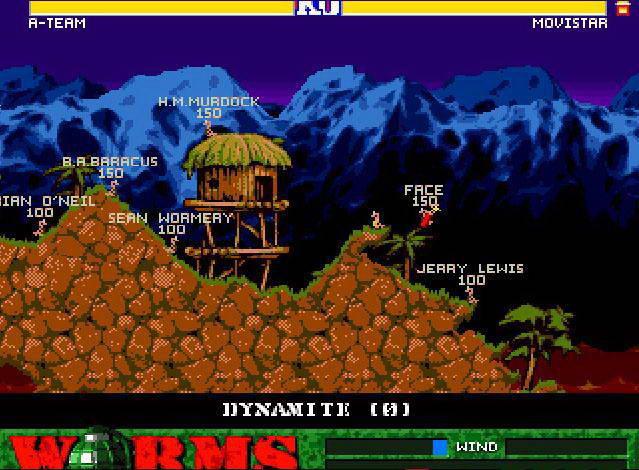 Скриншот Worms