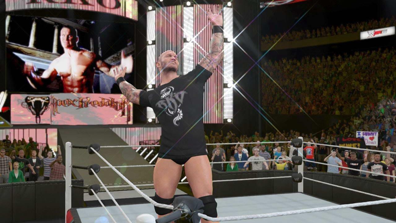Скриншот WWE 2K15