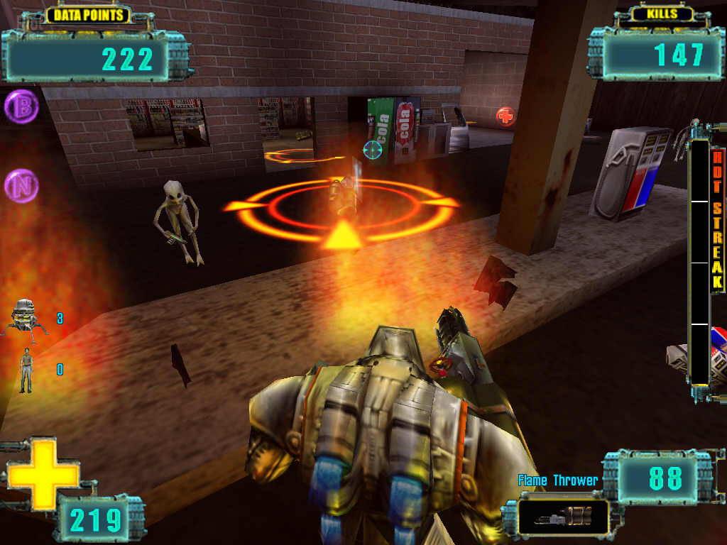 Скриншот X-COM: Enforcer