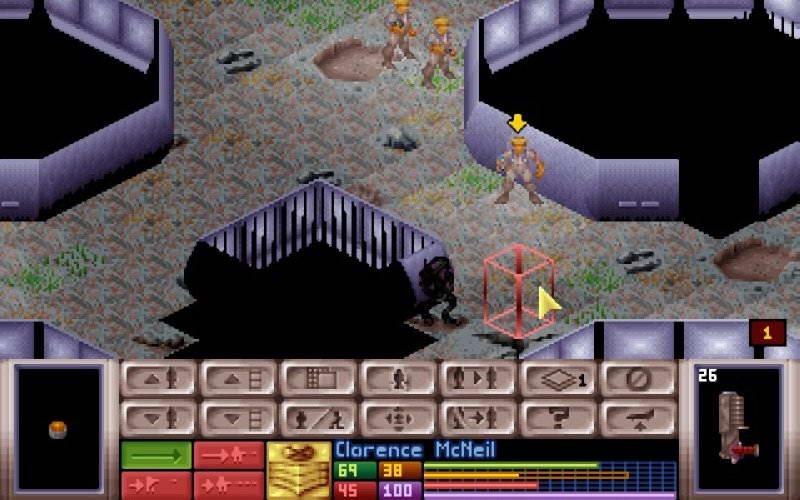 Скриншот X-COM: UFO Defense