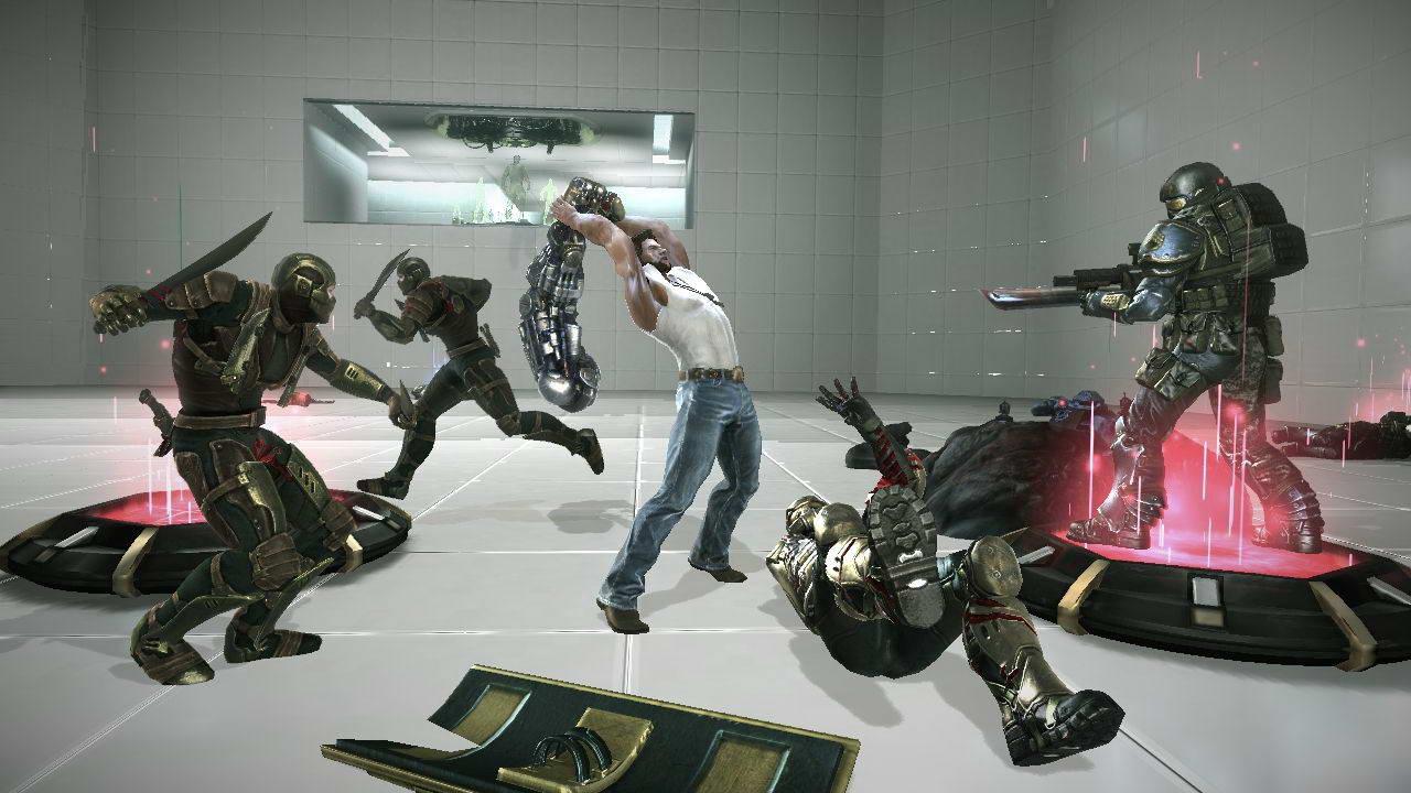 Скриншот X-Men Origins: Wolverine