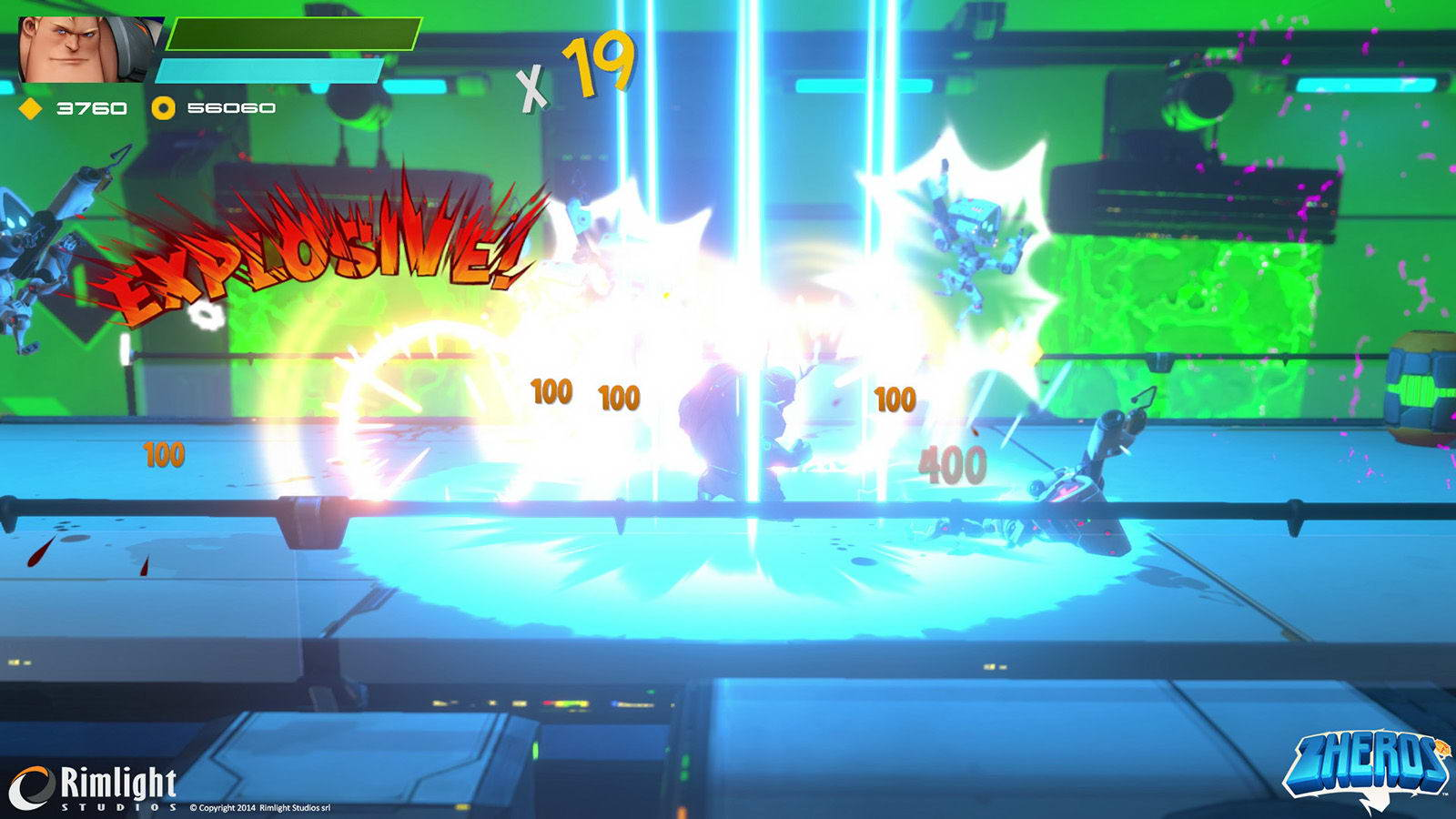 Скриншот ZHEROS