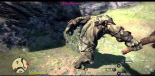 Dragon*s Dogma gameplay - Assassin vs Cyclops