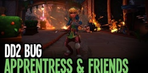 Dungeon Defenders II Bugs - The Apprentress and Friends