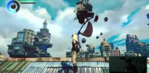 GRAVITY DAZE 2 (GRAVITY RUSH 2) Gameplay Demo ?????