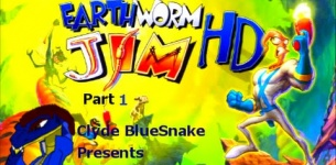 EarthWorm Jim HD [PS3] Part 1/5 EWJ1 all over again