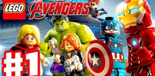 LEGO Marvel*s Avengers - Gameplay Walkthrough Part 1 - Captain America, Iron Man, Thor, Hulk! (PC)
