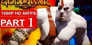 God Of War 3 Remastered Gameplay Walkthrough Part 1 [1080p HD 60FPS] - No Commentary