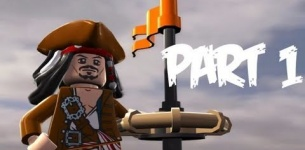 Lego Pirates of the Caribbean: Walkthrough Part 1 - Let*s Play (Gameplay & Commentary)