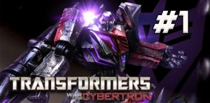 Transformers War for Cybertron Walkthrough - Part 1 [Chapter 1] Dark Energon Let*s Play XBOX PS3 PC