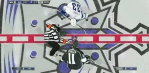 NHL 11 Gameplay: Los Angeles Kings vs. Vancouver Canucks