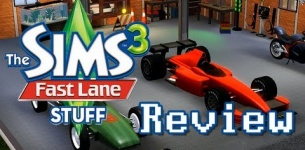 LGR - The Sims 3 Fast Lane Stuff Pack Review