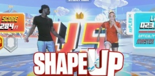 Shape Up - STUNT RUN CHALLENGE!