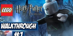 LEGO Harry Potter: Years 1-4 - Walkthrough Ep.1 w/Angel - The Journey Begins!