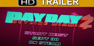 Payday 2 Hotline Miami Trailer