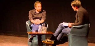 Ken Levine filmed at a BAFTA Q&A