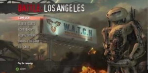 Watch the Battle: Los Angeles Video Game Trailer