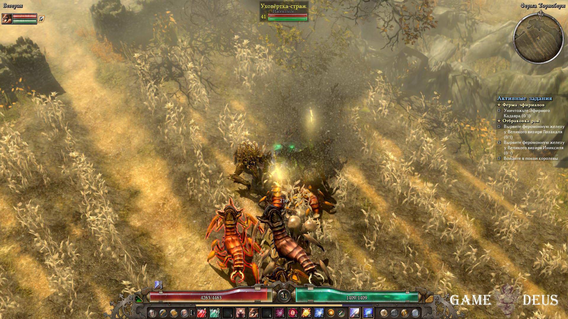 Grim Dawn: Зараженные поля