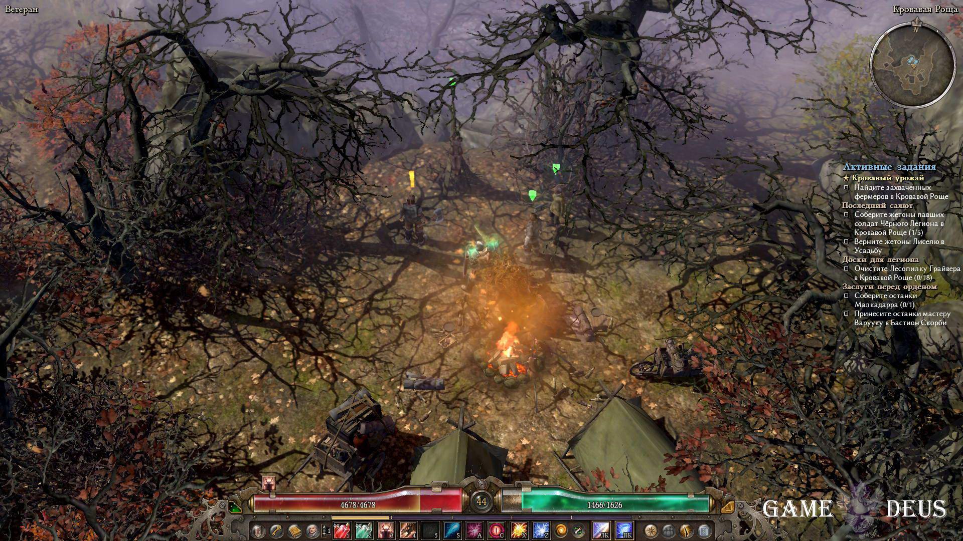 Grim Dawn: Сжечь одержимую